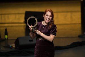 Ана Чоловиќ Лешоска од Еко-свест добитник на престижна награда за животна средина